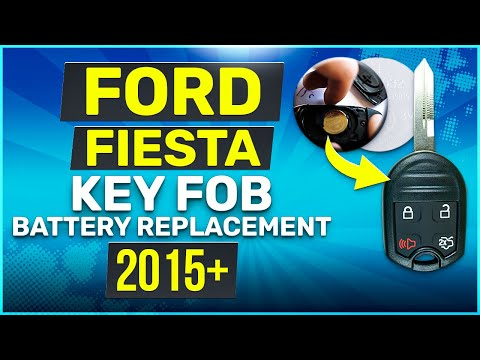 Ford Fiesta Remote Key Fob Battery Replacement
