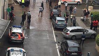 Schaffhausen: fünf Menschen mit Kettensäge verletzt, Täter auf der Flucht