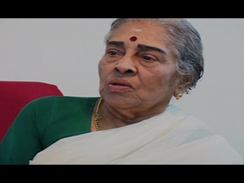 Dr. Leela Omchery about the origin of Sopana Sangeetham, Interview Part 4