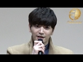 【韓国ミュージカル「INTERVIEW」-お願い、誰か僕を助けて-製作発表会】超新星 ソンジェ・ユナク Part2