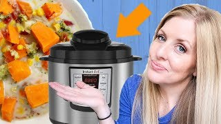 How to Make Instant Pot Sweet Potato Soup - Cooks in 5 MINUTES! Dump and Go Recipe