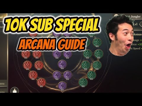 10K SUB SPECIAL   MY BEST ARCANA PAGES   Arcana Guide   Arena of Valor