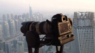 Gigapan Testing High Above Dubai