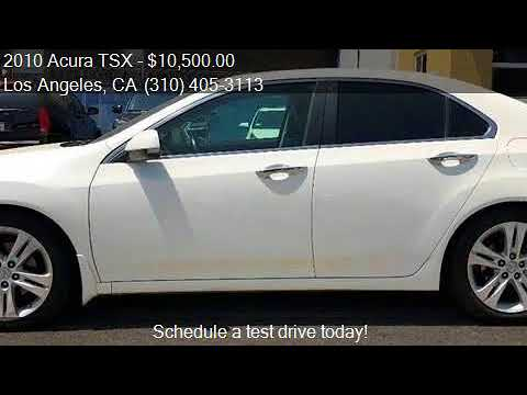 2010 Acura TSX V 6 w/Tech 4dr Sedan w/Technology Package for