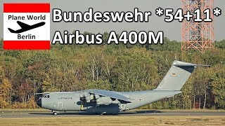 Bundeswehr Airbus A400M *54+11* takeoff from Berlin TXL