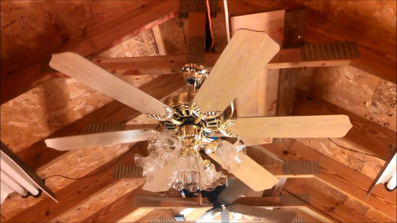 Jcpenney 6 Blade Ceiling Fan Full Youtube