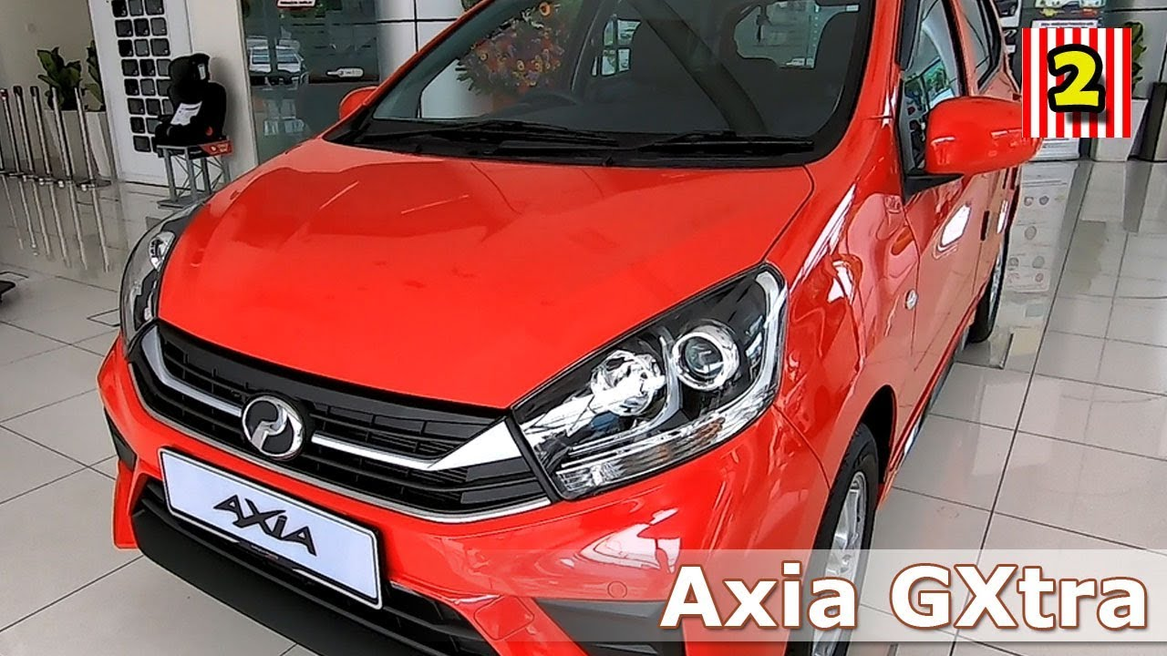 Perodua Axia 1 0 Gxtra 2020 Walk Around Perodua Malaysia Small Compact Car Youtube