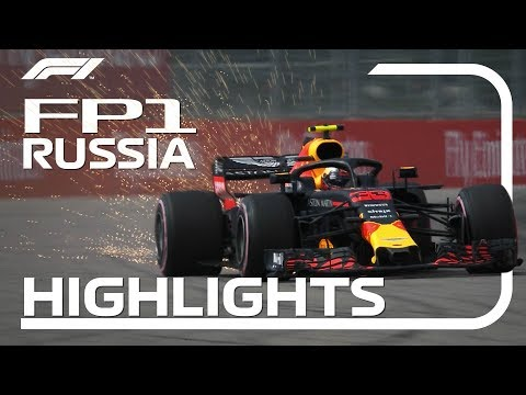 2018 Russian Grand Prix: FP1 Highlights