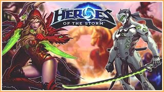 Genji y Valeera Wombo Combo | Heroes of the Storm 2.0