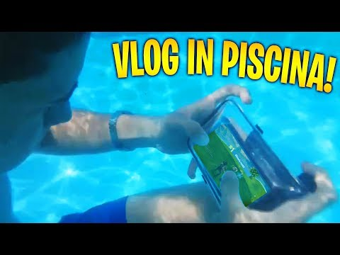 GIOCO A FORTNITE SOTT'ACQUA! Vlog in piscina