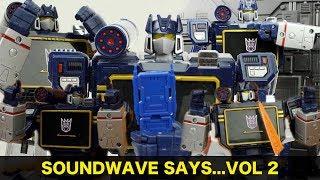 Soundwave Says - Volume 2