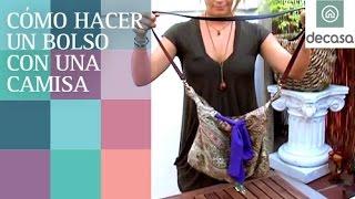 Video Cómo hacer un bolso con una camisa vieja   El rey del reciclaje download MP3, 3GP, MP4, WEBM, AVI, FLV November 2017