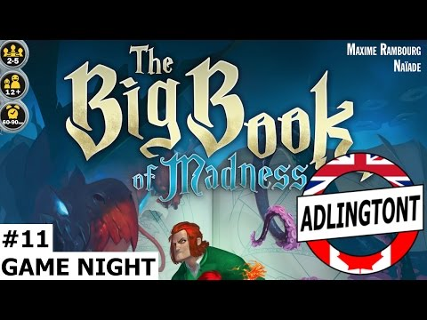 Game Night - #11 - The Big Book of Madness