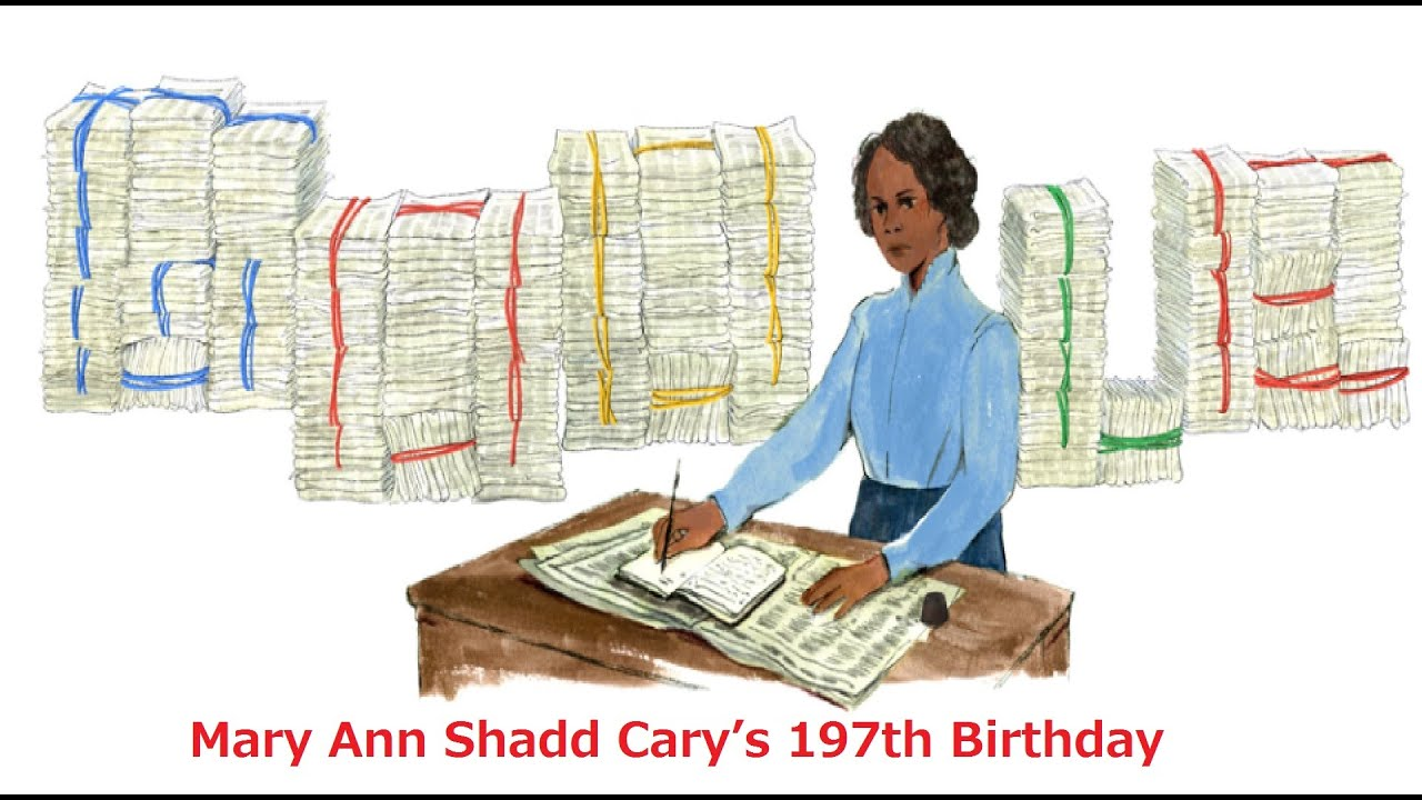 Google honors newspaper publisher Mary Ann Shadd Cary with ...