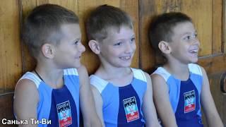 Соревнования по спортивной гимнастики, 1 юношеский разряд ДЮСШ№1 г.Макеевка в Донецке  02 06 17