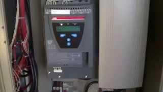 плавный пуск ABB PSTB370-600-70 в работе(ABB PSTB370-600-70 с обратным клапаном ARI., 2014-10-29T16:16:19.000Z)
