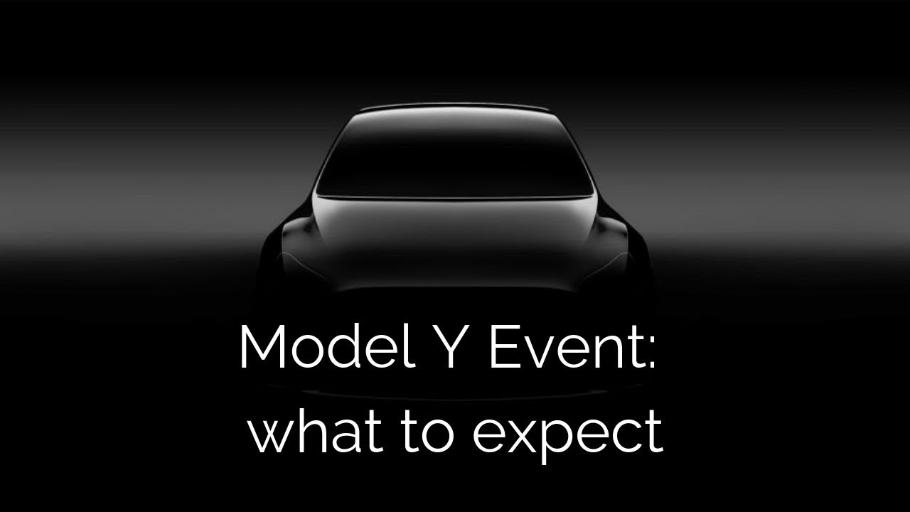 What to expect at Tesla's Model Y event