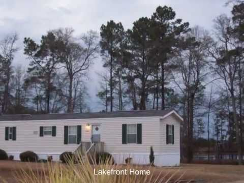 MH7 Lakefront  Furnished Home for Rent Conway Near Myrtle Beach South Carolina