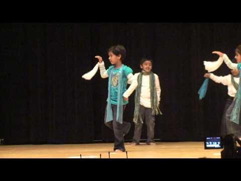 aef6568bf9d4 JAi Ho Dance by cute little kids! - YouTube