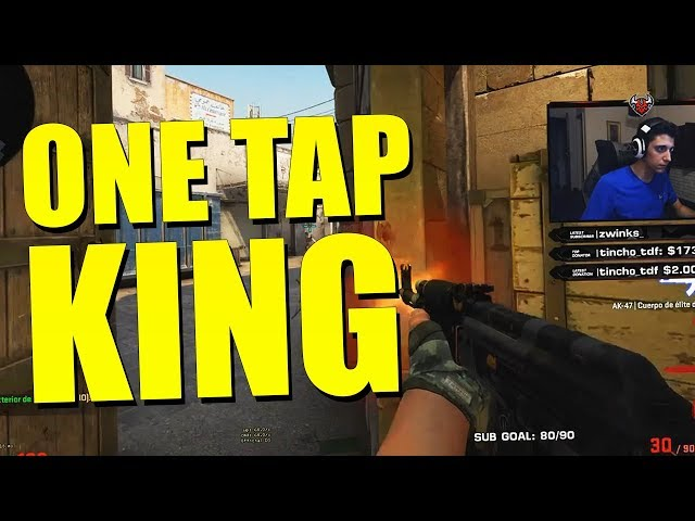 ¡ONE TAP KING! | TWITCH CLIPS
