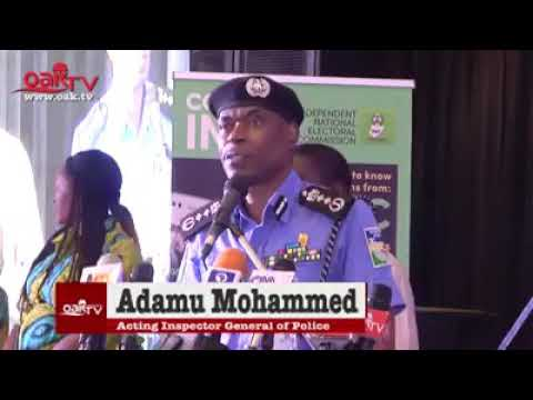 We're ready for 2019 elections — IGP Mohammed Adamu