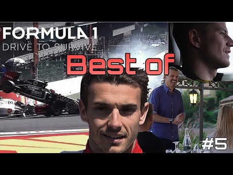 Grosjean's crashes, Leclerc goes Bianchi's path & more   F1 : Drive to Survive Best of part 5