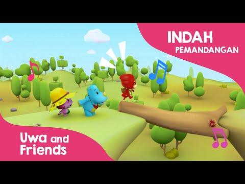 Indah Pemandangan Lagu Anak Indonesia Populer Youtube