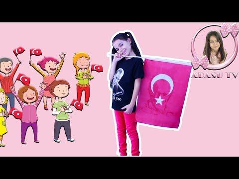 Cumhuriyet Çiçekleriyiz Biz | 29 Ekim Cumhuriyet Bayramı Şarkısı 2018 | Adasu TV
