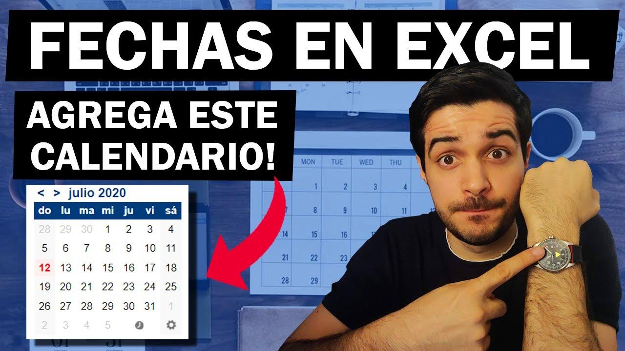 Todo sobre fechas en Excel | Calendario fácil en Excel!