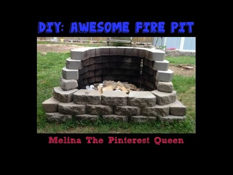 diy awesome fire pit