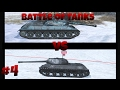 WOTBlitz: Battle of tanks #4 Glacial 112 vs IS3 Defender (Ice Dragon vs Autoloader)
