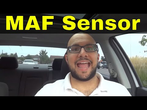 Mass air flow sensor car intake