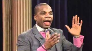 Kirk Franklin and  Steve Harvey on TBN Apr 04, 2011  Testimony