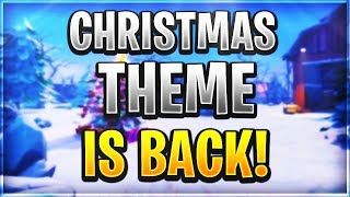 HOW TO GET THE CHRISTMAS THEME IN FORTNITE BATTLE ROYALE IN 2018! *SECRET* CHRISTMAS THEME GLITCH!