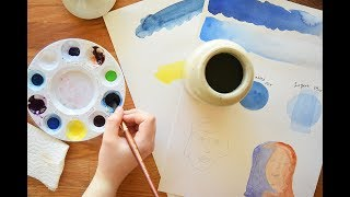 My Top 5 Tips for Watercolor Beginners :)