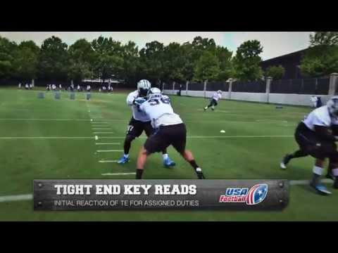 Carolina Panthers tight end key reads: Defensive ends