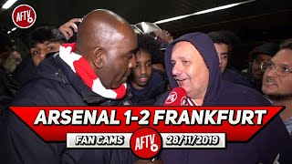 Arsenal 1-2 Frankfurt | Raul Sanllehi Is The Biggest Problem For Allowing This! (Claude)
