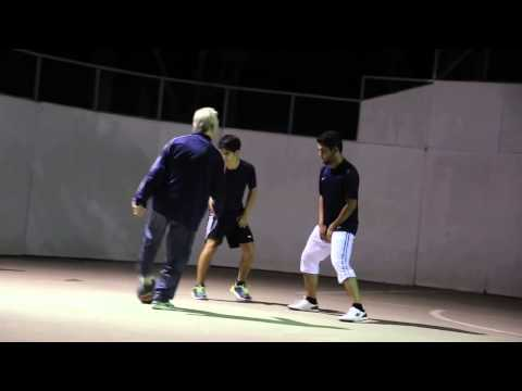 Sean Garnier looked like an old man and shows incredible ability