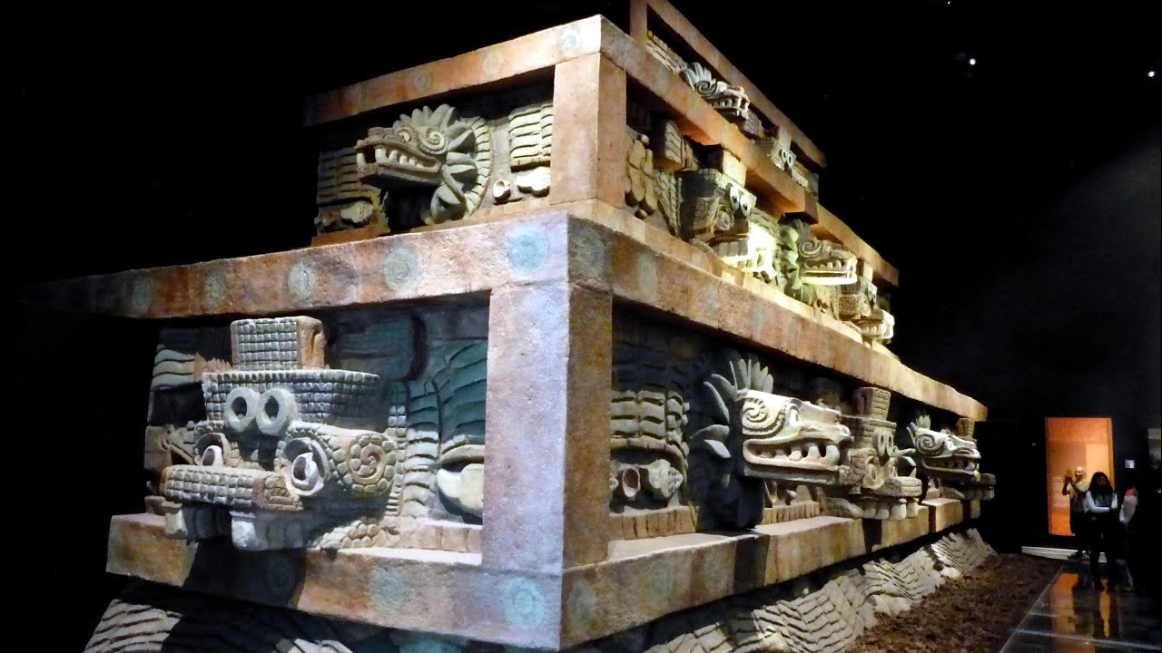 Museum Of Anthropology In Mexico City Part2 Youtube