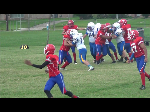Dominic Caballero Class of 2020- Texas- 2015-2016 Offensive/ Defensive Lineman Football Highlights