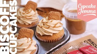 Bake Biscoff Cupcakes at Home. Right NOW! | Cupcake Jemma