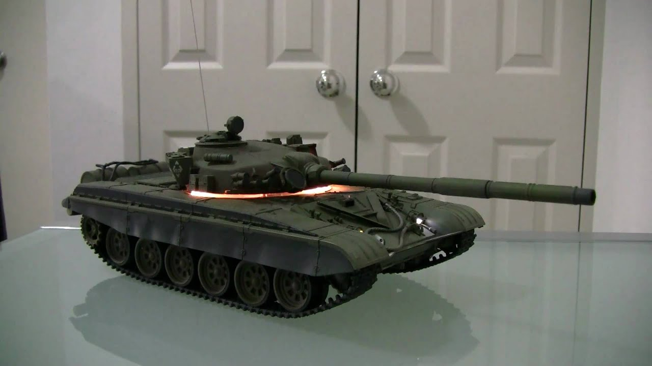 Russian T-72 M1, RC Tank, BOL brand (VS Tank by another ...