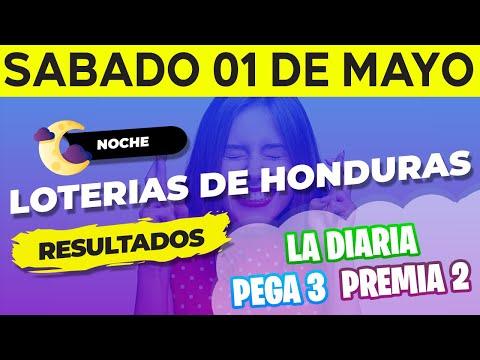 Sorteo 8PM Loto Honduras, La Diaria, Pega 3, Premia 2, Sábado 1 De Mayo Del 2021 | Ganador 😱🤑💰💵