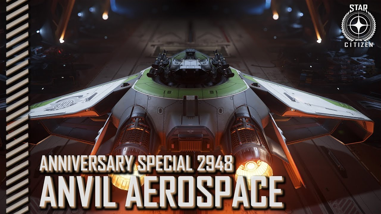 Star Citizen: Anniversary 2948 - Anvil Aerospace