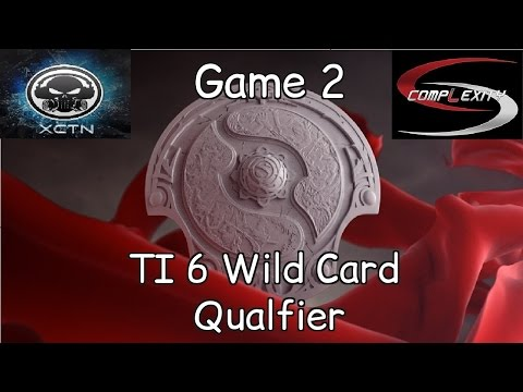 XCTN vs Complexity - Game 2 - TI6 Wild Cards - Highlights