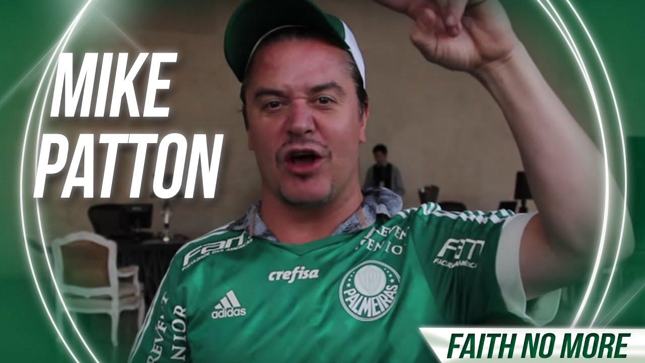 b731fc0dcbcd5 Mike Patton saúda os palmeirenses: