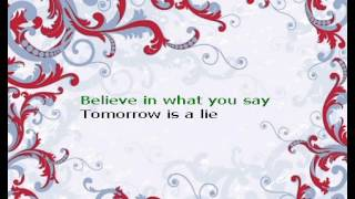 Tomorrow is a lie - lara fabian karaoke
