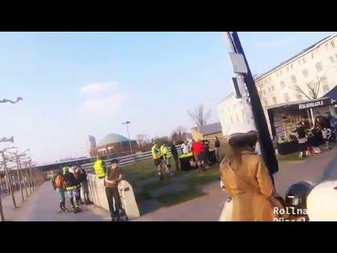 City Tour: Freeskate in Düsseldorf April 2016 (GoPro Hero 4 Session)