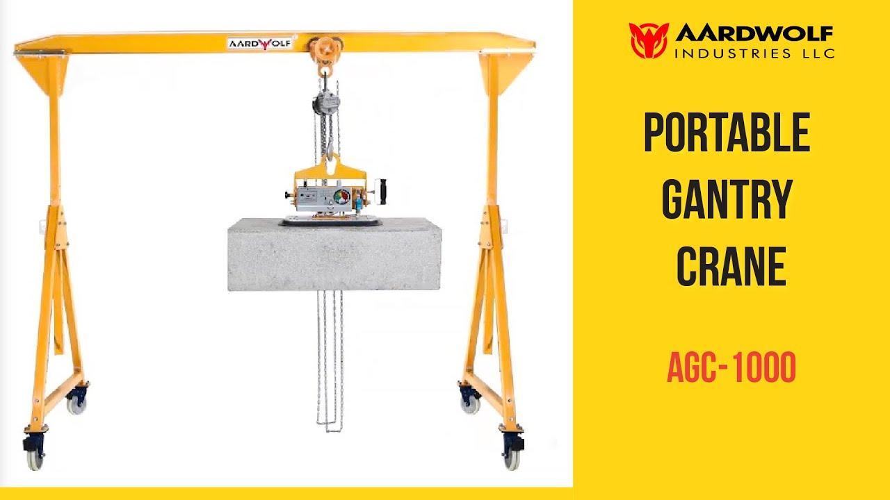 Harbor Freight Gantry Crane >> Portable Gantry Crane From Aardwolf