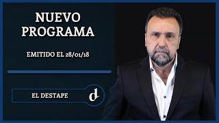 El Destape con Roberto Navarro - 5º Emisión